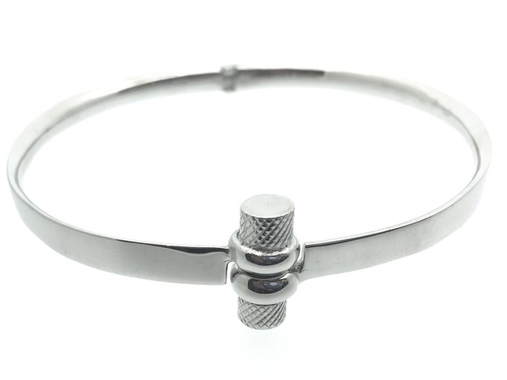 Screw silver bracelet Bracciale a vite in argento 925
