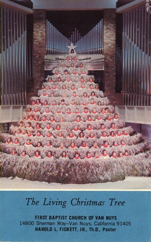 Old Christmas Tree Song Part - 44: The Living Christmas Tree, Featuring The College-Career Choir, Sings The Old  And New Songs Of Christmas. A Southern California Spectacular.
