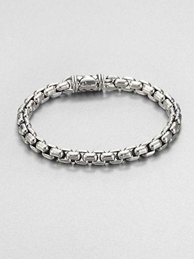 Scott Kay - Sterling Silver Chain Bracelet - Saks.com