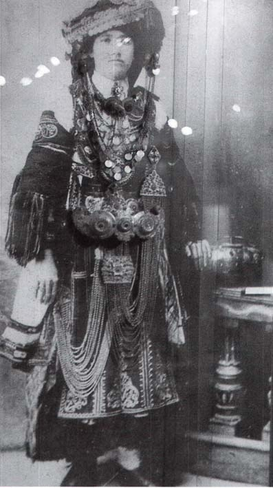 Festive costume of a Vlach of northern Greece.  Early 20th century.
