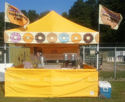 Food Booth Tents | Buy Shade