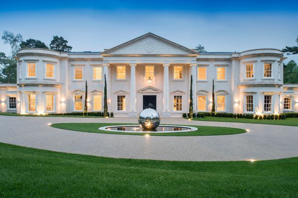 Homes In Surrey Are Expensive But This Is Something Else House Plans Mansion Luxury Houses Mansions Mansions