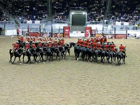 RCMP Musical Ride performance at CNE 2008 [Video]