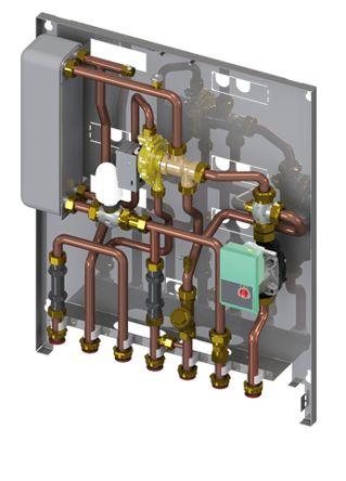 Lovato macuk rsm un modulo satellite ad incasso e for Connessioni idrauliche di acqua calda sanitaria
