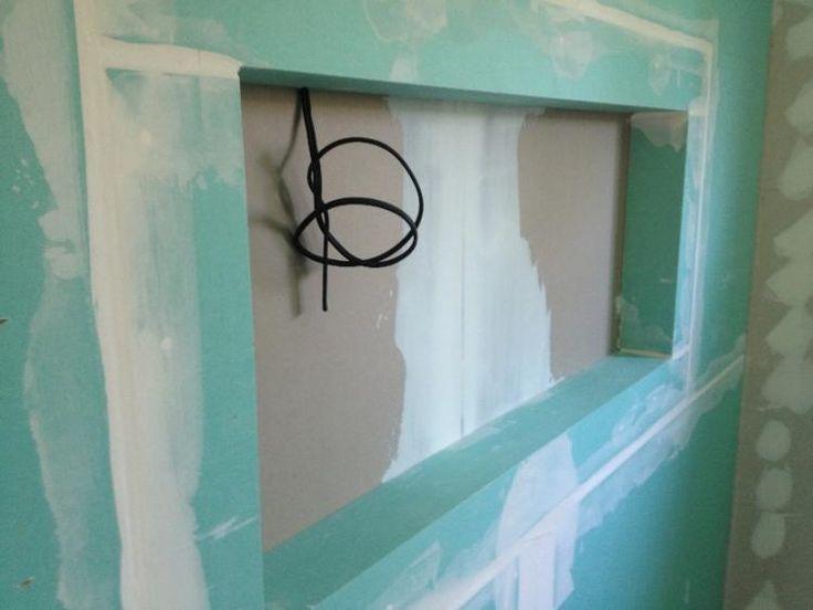 nische als abstellfl che in der dusche badideen. Black Bedroom Furniture Sets. Home Design Ideas