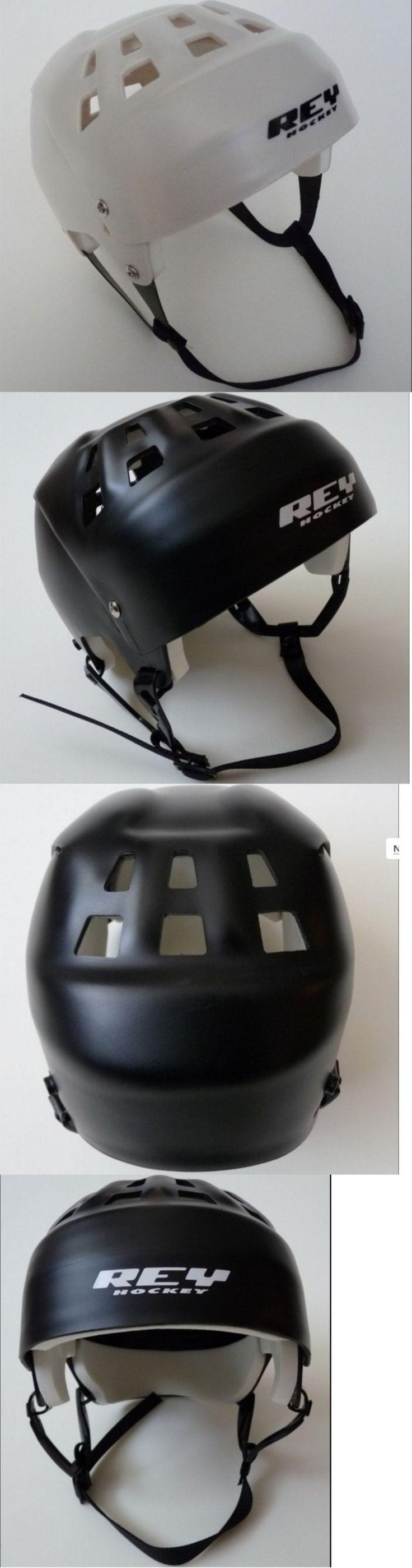Helmets 20854: Rey Jofa-Style Street Hockey Helmet - Senior Sz White (Med Large) Adjustable -> BUY IT NOW ONLY: $69.99 on eBay!