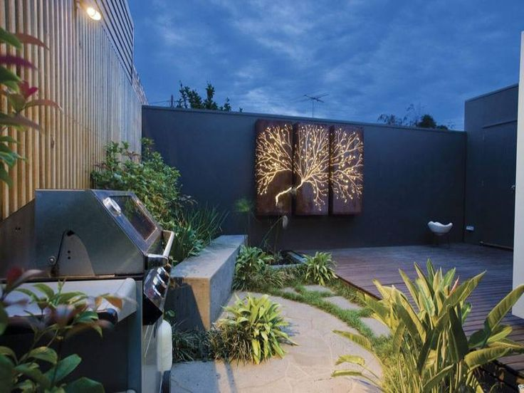 outdoor living areas image: decorative lighting, bbq area - 422601