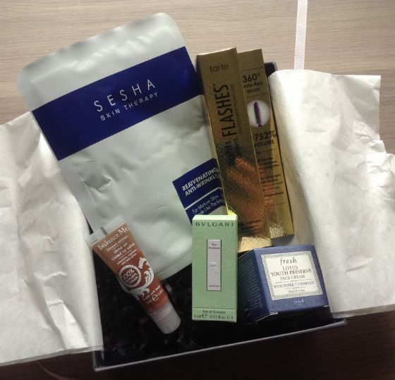 GlossyBox Review - October 2013