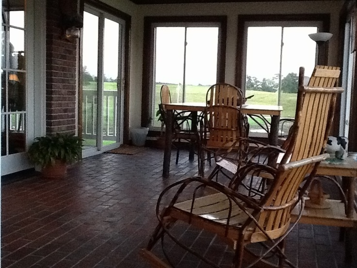 Sunroom with amish made furniture amish made furniture for Outdoor furniture 77386