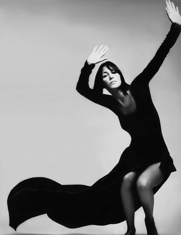 1969. Vogue. Cher. Photo by Richard Avedon (B1923 - D2004)