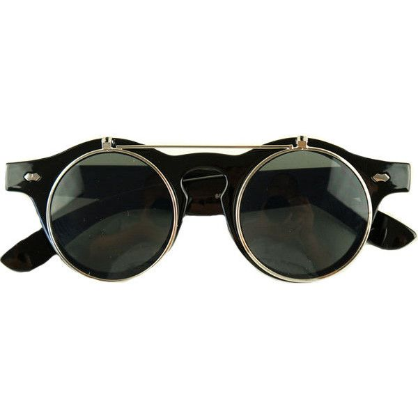 Flip Bar Sunglasses ($28) ❤ liked on Polyvore