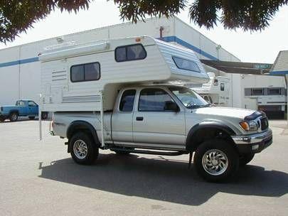 Truck Camper To Do Camper Tacoma Camper Shell Truck