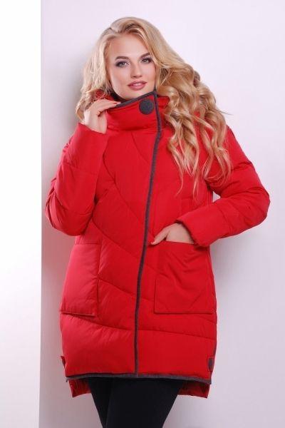 Женские куртки 50 размера из полиэстера