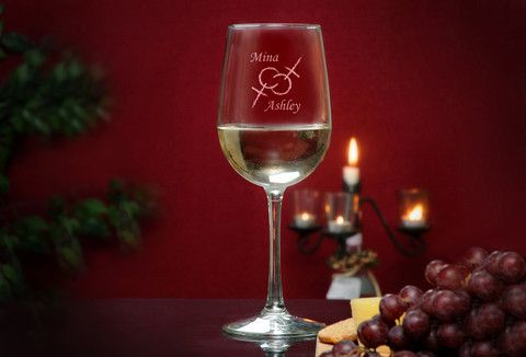Human Rights Tall Wine Glass LGBTQ