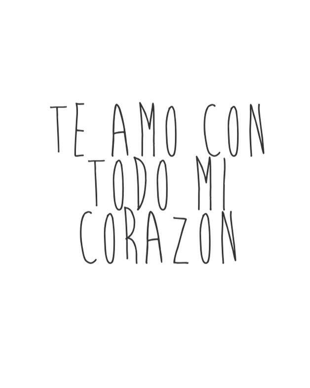 Te Amo Mi Amor Tumblr Buscar Con Google Frases T
