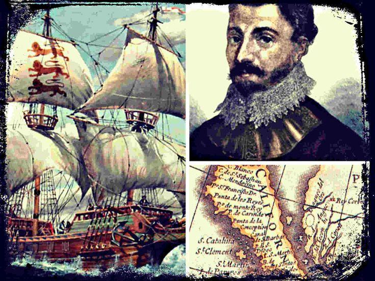 Sebastián Vizcaíno fue el primer europeo en arribar a la bahía de Monterrey (México), en la cual fundó el puerto del mismo nombre.