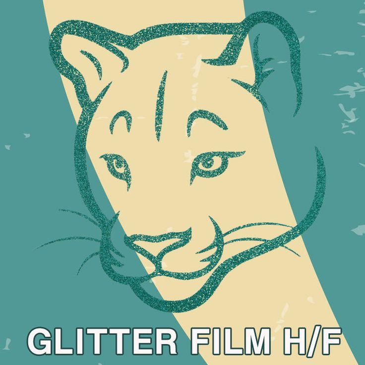 <Film Motif>  Glitter Film Hot Fix SG-41 Jade Green  You can make custom design motif with Heat transfer Vinyl!  Please contact us.  info@shine-art.com