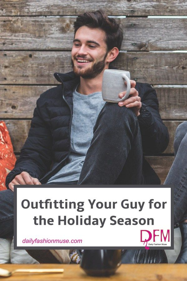 You probably have your holiday season finery ready and waiting, but what about your man's holiday style? Use these tips to style your guy for the holidays.