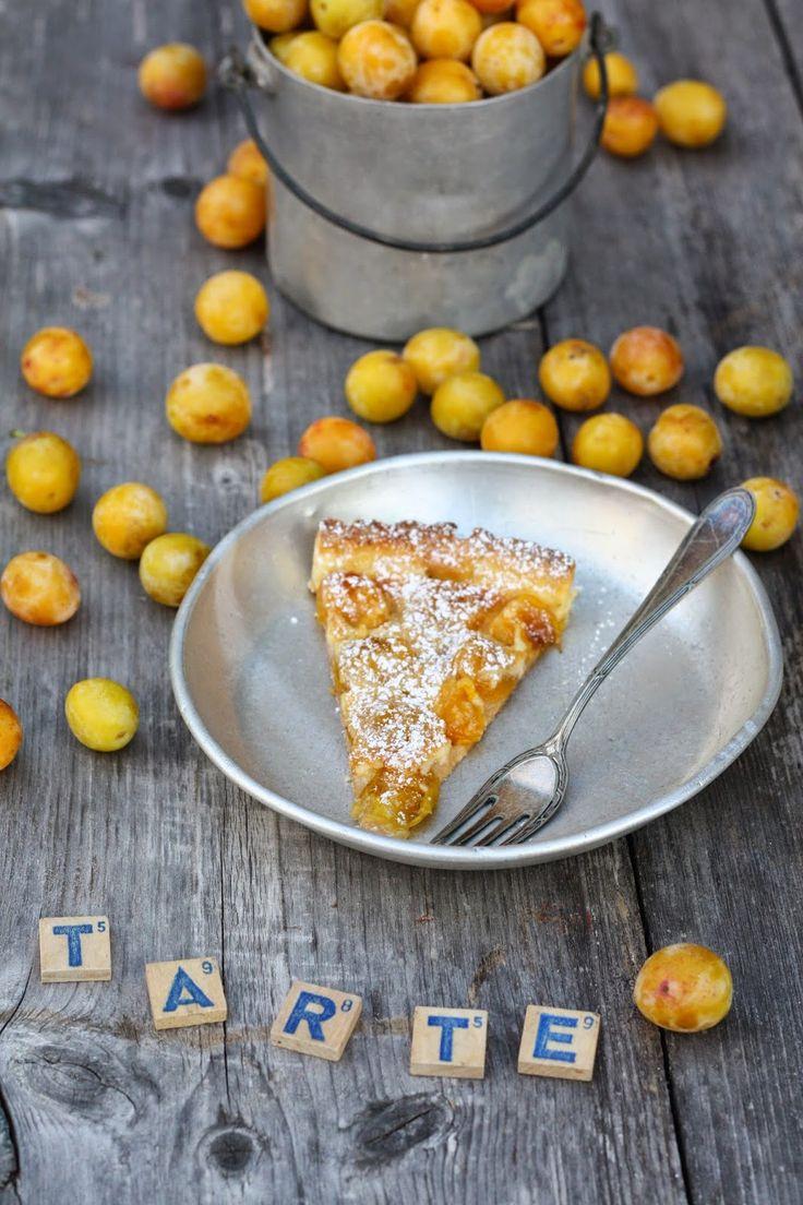 I'm back: Mirabellen-Tarte   – Kuchen, Desserts