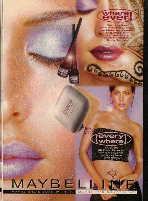 Maybelline In The 90 S Everything Had To Be Quot Icy