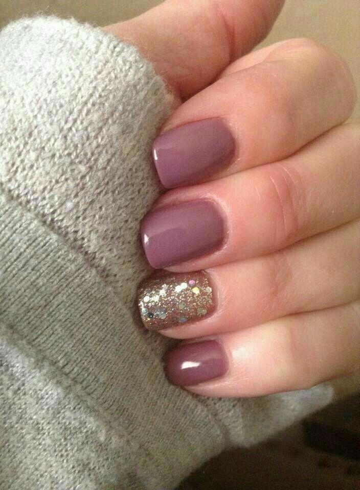 Nice purple hue …