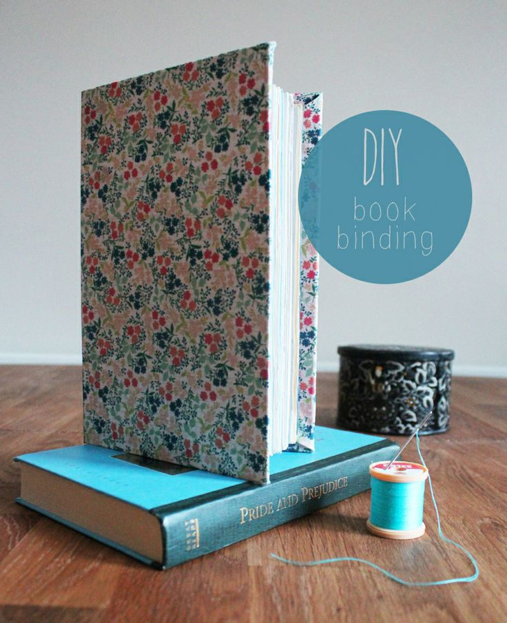 DIY Bookbinding tutorial - perfect for someone wanting to try something new!