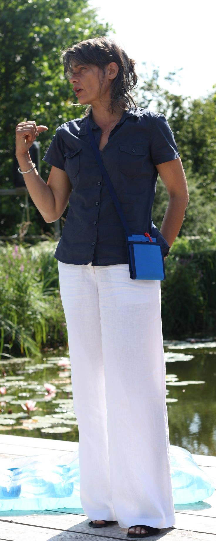 Ti Sac Bleu Horizon - Collection 2017 - [EN] Looking for a convenient and attractive clutch for this summer ? This small blue handbag with its sailing style clutch is the ideal bag - [FR] Vous recherchez un sac séduisant pour cet été ? Cette petite sacoche bandoulière bleue, avec son style marin, sera votre alliée pour cet été 2017 #tisac #sacoche_bandouliere #style_marin #sailing_style_clutch More collections > https://www.tisac.shop