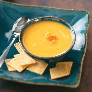 Curried Parsnip Soup.  Could be cleanse friendly if we're allowed to have broth, and if we substitute coconut milk for the dairy (which goes well with curry anyway).