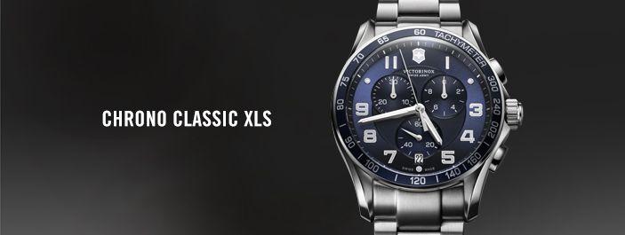 Modely série Chrono Classic sú overenom kombináciou športového dizajnu a jemnej elegancie. Osadené sú quartzovými strojčekmi ETA a SOPROD. Práve strojček SOPROD priniesol do vybraných modelov presnosť chronografu až na 1/100 sekundy.