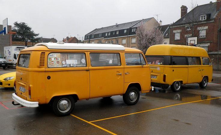 Volkswagen Kombi minibus orange paire | by gueguette80 ... non voyant pour une durée indéte