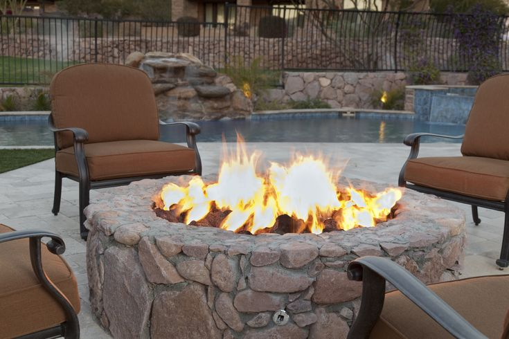Want to add fire to your backyard? Ranging in size from basic tiki torches to contemporary troughs, there's a fire pit for every homeowner and every budget.
