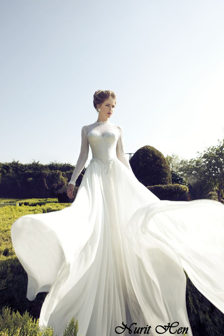 Nurit Hen Wedding Gown Available World Wide Contact Nurithenofficial Gmail