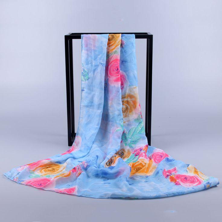 Fashion Scarf Luxury Brand Women Beach Chiffon Shawls and Scarves Sexy Loose Long Soft Wrap scarfs Ladies poncho Hijab 2017 new