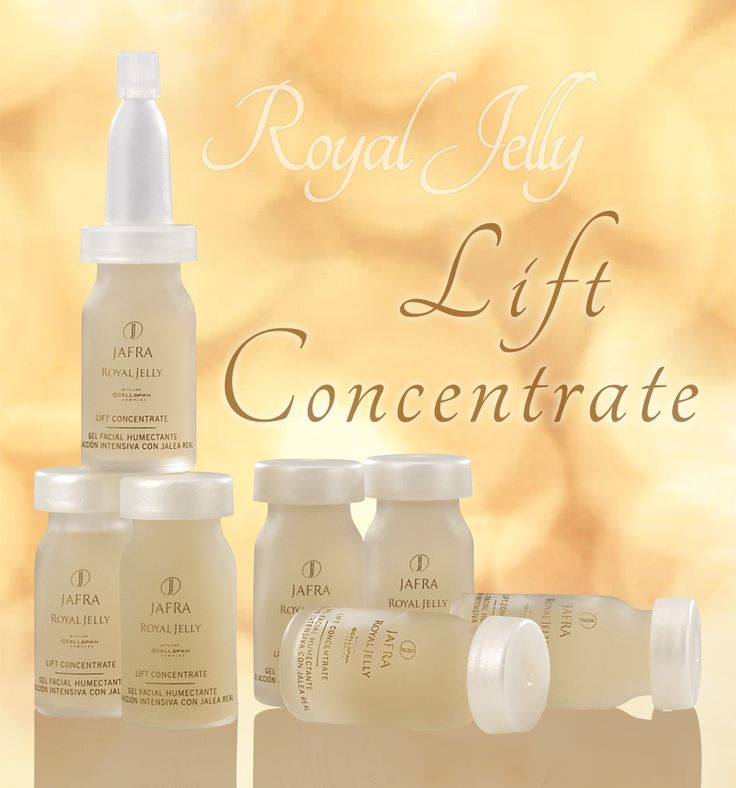 Royal Jelly Lift Concentrate-- Within 14 days, moisture will be restored, pores will look more refined and wrinkles will seem to fade!