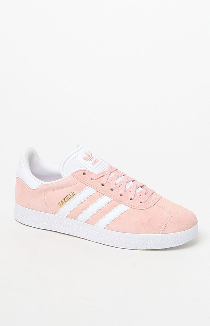 Hooked on Women's Pink Gazelle Sneakers that I found on the PacSun App