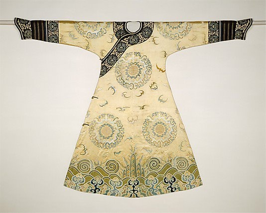 18th Century Chinese robe: Medallion Robe, Bat Medallion, Ceremonial Robe, Metropolitan Museum, Art, 18Th Century, Qing Dynasty, China