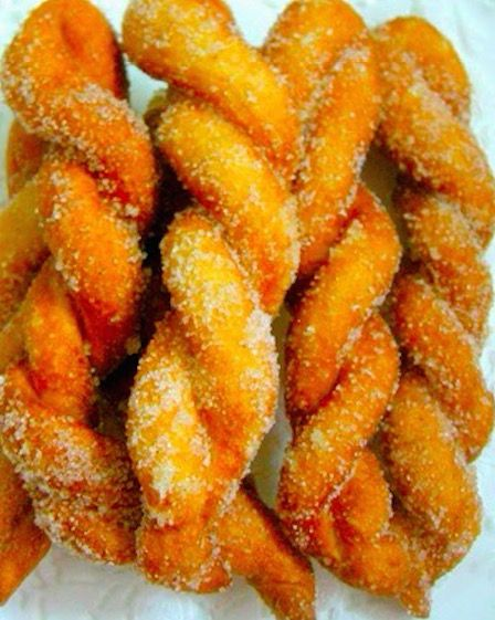 Shakoy (Filipino Twisted Donut) - Recipe