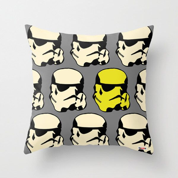 Star Wars pillow cover - Christmas gift - Boyfriend gift ideas - Present for him - birthday gifts for boyfriend - gifts for guys by TheGretest on Etsy https://www.etsy.com/listing/178331032/star-wars-pillow-cover-christmas-gift