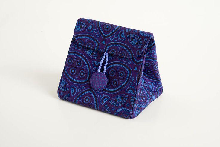 IQHOSHA BAG (makeup bag ) R210 sashamtu@gmail.com   #HandBags #Sasha #Shweshwe #chic #SA #JHB #HandbagsJHB #Fabrics #Bags #Diaries #Notebooks