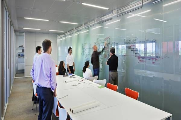 Glass Marker Board Materials Creative Office Space