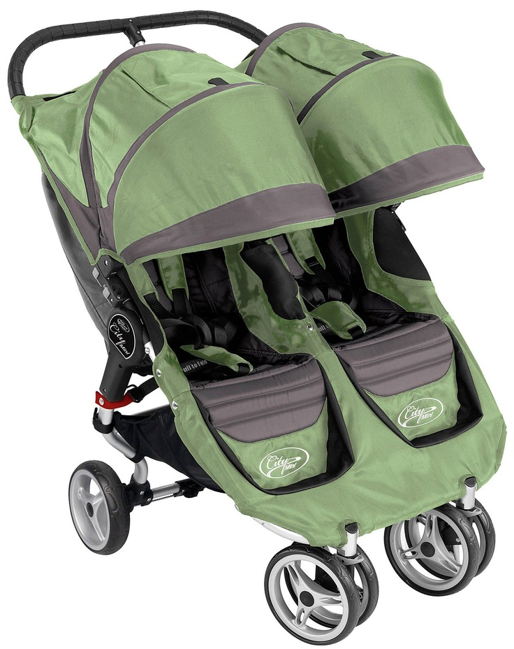 Baby Jogger City Mini Double Green/Grey (2011) 399.99