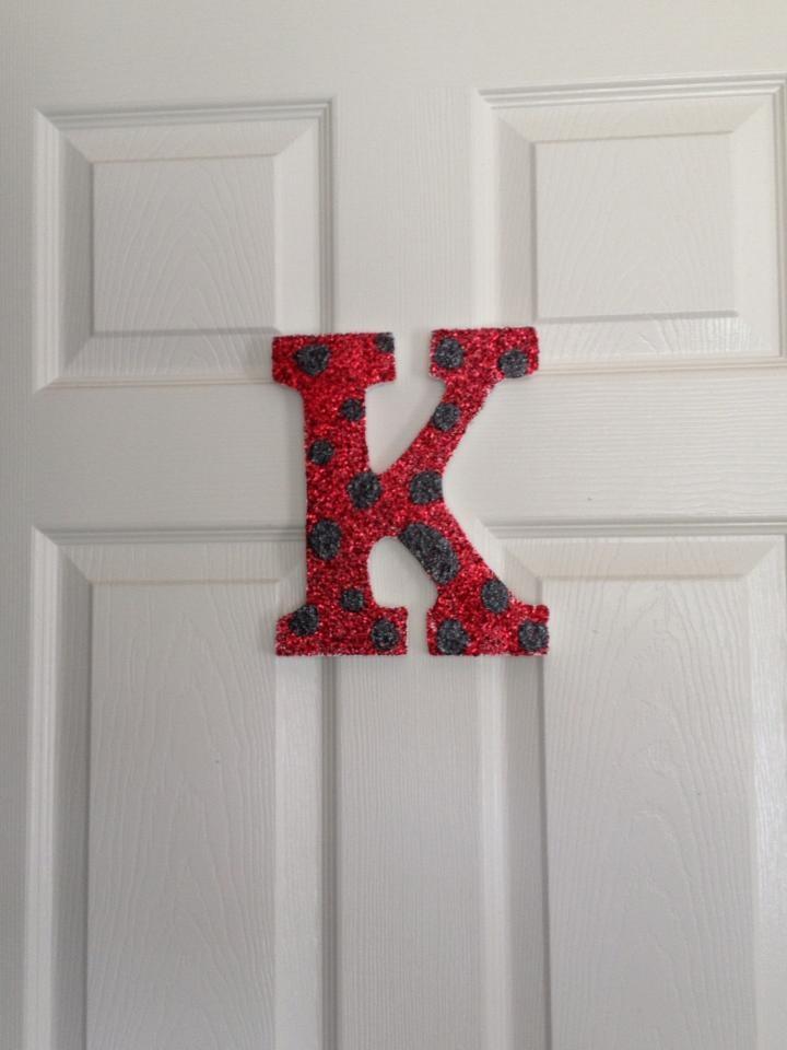 Kendall's Ladybug Room