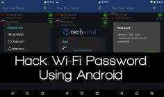 LearnHow to Hack or Recover Wifi Password on Android Without Root, Time to start real wifi hacking without rooting your android phone.