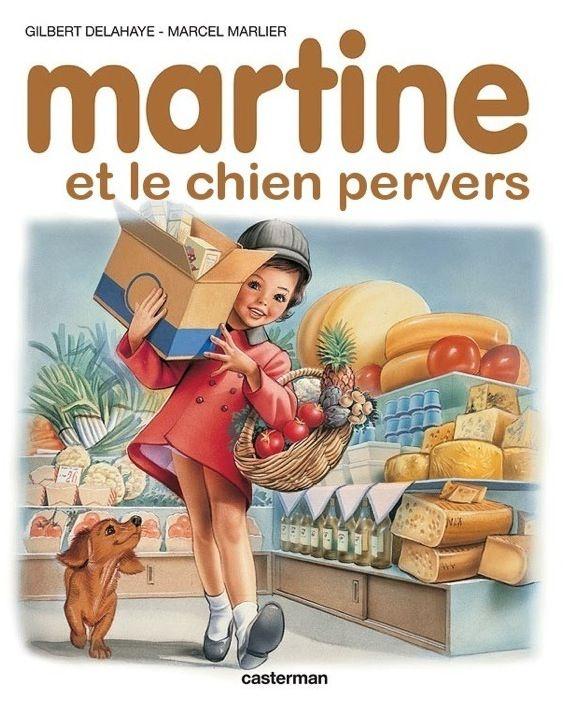 Martine et le chien pervers