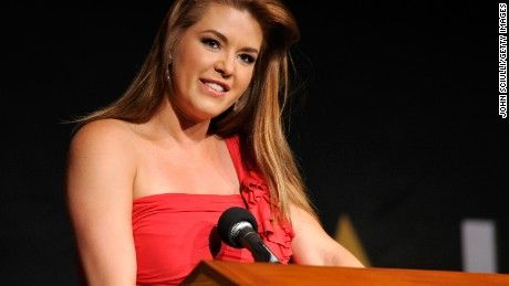 "Former ""Miss Universe"" Alicia Machado struck back Tuesday against insults hurled at her by Donald Trump, saying that he was ""aggressive"" and ""really rude."""