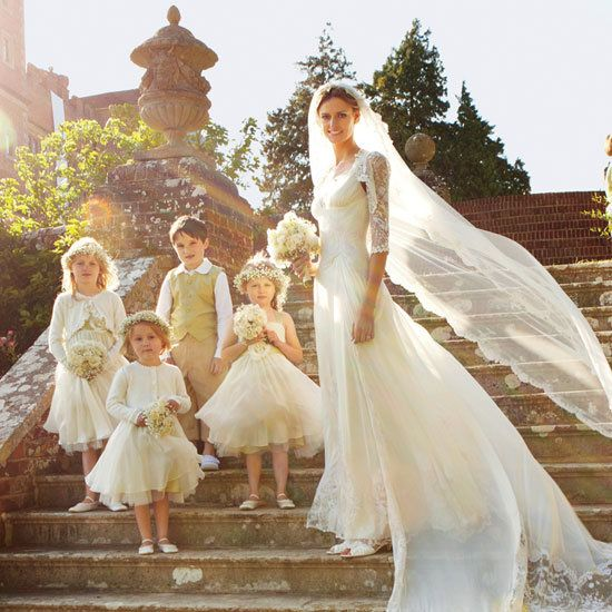 Jacquetta Wheeler's English Wedding Album: See the Model Bride in Her Gorgeous Custom Temperley Wedding Dress | POPSUGAR Style & Trends Australia