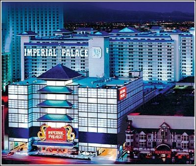 Imperial Palace - Las Vegas  loved staying here watching all the look alikes do a number on the stage. This was the first place we ever stayed in LV. A few decades later, it's dated and the elevators... forget it, take the stairs.