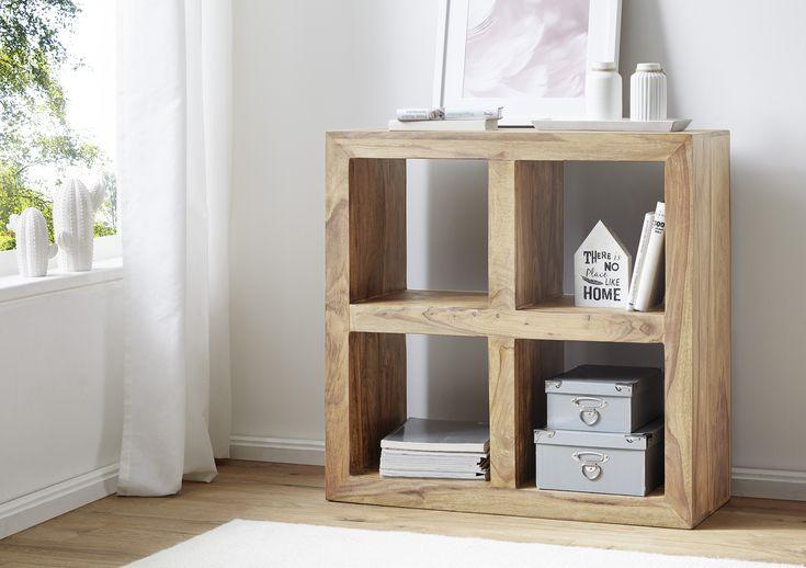 148 best Wohnling Akazie Massivholz Couchtische images on Pinterest - deko wohnzimmer regal