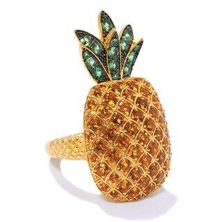 Super cute pineapple ring X