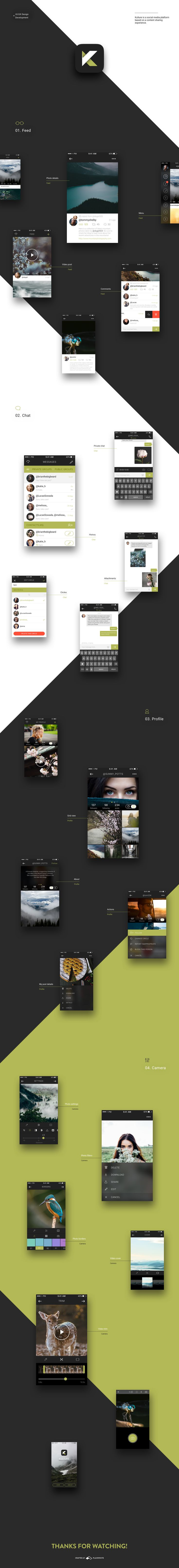 KULTURE is a social network based on media content sharing.Services we provided: UX Design, UI Design, Motion Design, App Icon Design, Frontend & Backend Development.